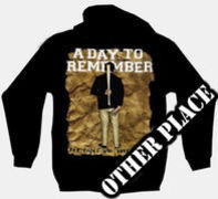 A Day To Remember - TDM-1332 - mikina so zipsom s kapucňou